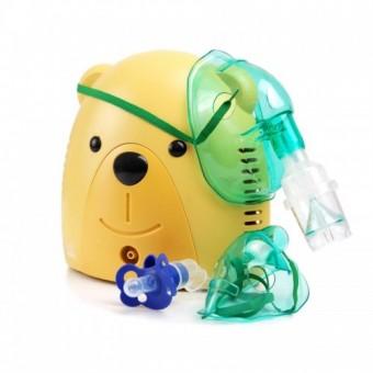 Aparat aerosoli copii si bebelusi cu suzeta speciala Ursulet