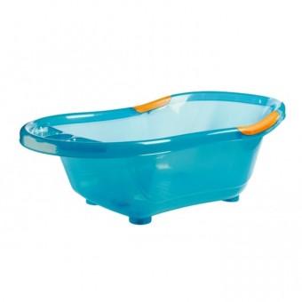Cadita de baie cu baza si manere antiderapante Turcoaz