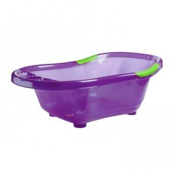 Cadita de baie cu baza si manere antiderapante Violet