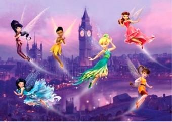 Fototapet - Disney Fairies 255x180cm