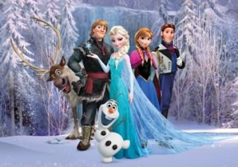 Fototapet Disney Frozen 160x115cm