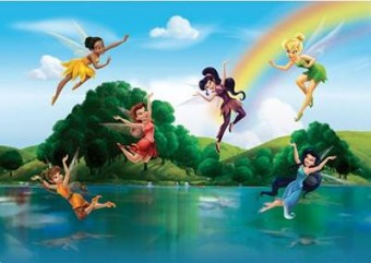 Fototapet camera copii Disney Fairies 360x254cm