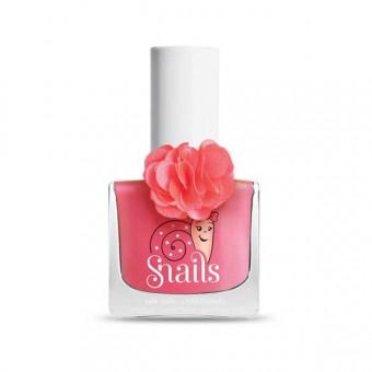 Lac Snails Fleur Rose+Creion Decorativ si Sticker