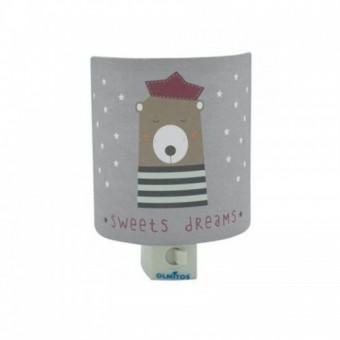 Lampa de veghe pentru copii cu intrerupator Olmitos Dreams