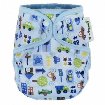 Protectie pentru scutec copii si bebelusi T-Tomi Masinute