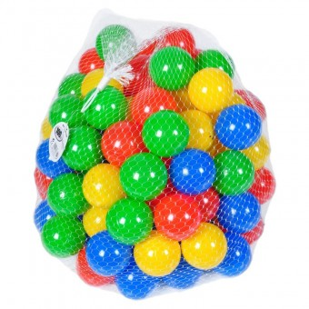 Set 100 bile colorate Knorrtoys