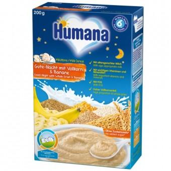 Imagine indisponibila pentru Set Cereale cu fulgi de ovaz si banane 6 luni+ Humana 200 g