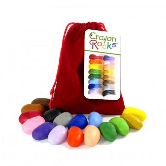 Set de 16 creioane cerate copii 3+Ani Crayon Rocks