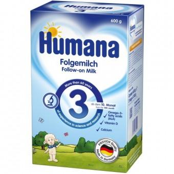 Imagine indisponibila pentru Set Lapte praf bebelusi de la 10 luni Humana 3 600 g