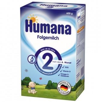 Imagine indisponibila pentru Set Lapte praf bebelusi de la 6 luni Humana 2 600 g