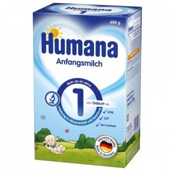 Imagine indisponibila pentru Set Lapte praf bebelusi de la nastere Humana 1 - 600 g