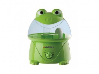 Umidificator cu ultrasunete si filtru de apa Green Frogy