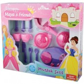 Accesorii bucatarie copii 18 piese Princess Maya and Friends Ucar Toys