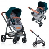 Carucior copii 2 in 1 Kiddo Jazz Emerald