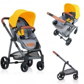 Carucior copii 2 in 1 Kiddo Jazz Lemon