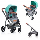 Carucior copii 2 in 1 Kiddo Jazz Mint