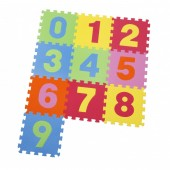 Covor Copii puzzle din spuma Numbers 10 piese