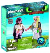PlayMobil CUPLU REGAL HICCUP SI ASTRID