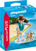 PlayMobil FIGURINA SURFER SI CATEL