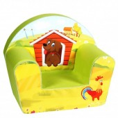 Fotoliu din burete Dog on a Farm 6 luni-3 ani Knorrtoys