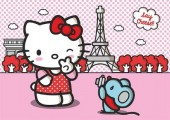 Fototapet - Hello Kitty 360x254cm