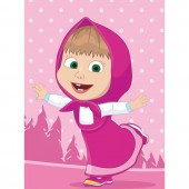 Prosop fata Masha and the Bear 40x60 cm SunCity