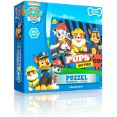 Puzzle Paw Patrol, Chase, Marshal, Rubble, 50 piese Toy Universe