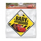 Semn de avertizare Baby on Board Cars Seven