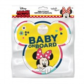 Semn de avertizare Baby on Board Minnie Seven