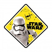 Semn de avertizare Baby on Board Star Wars Stormtrooper Seven