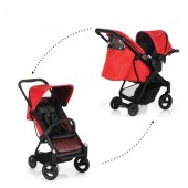 Set Carucior Acrobat Fishbone Red - Icoo