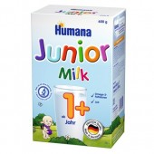 Set Lapte praf de la 1 an Humana Junior Milk 600 g