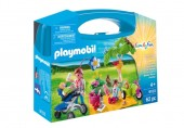 PlayMobil Set portabil- Picnic in familie